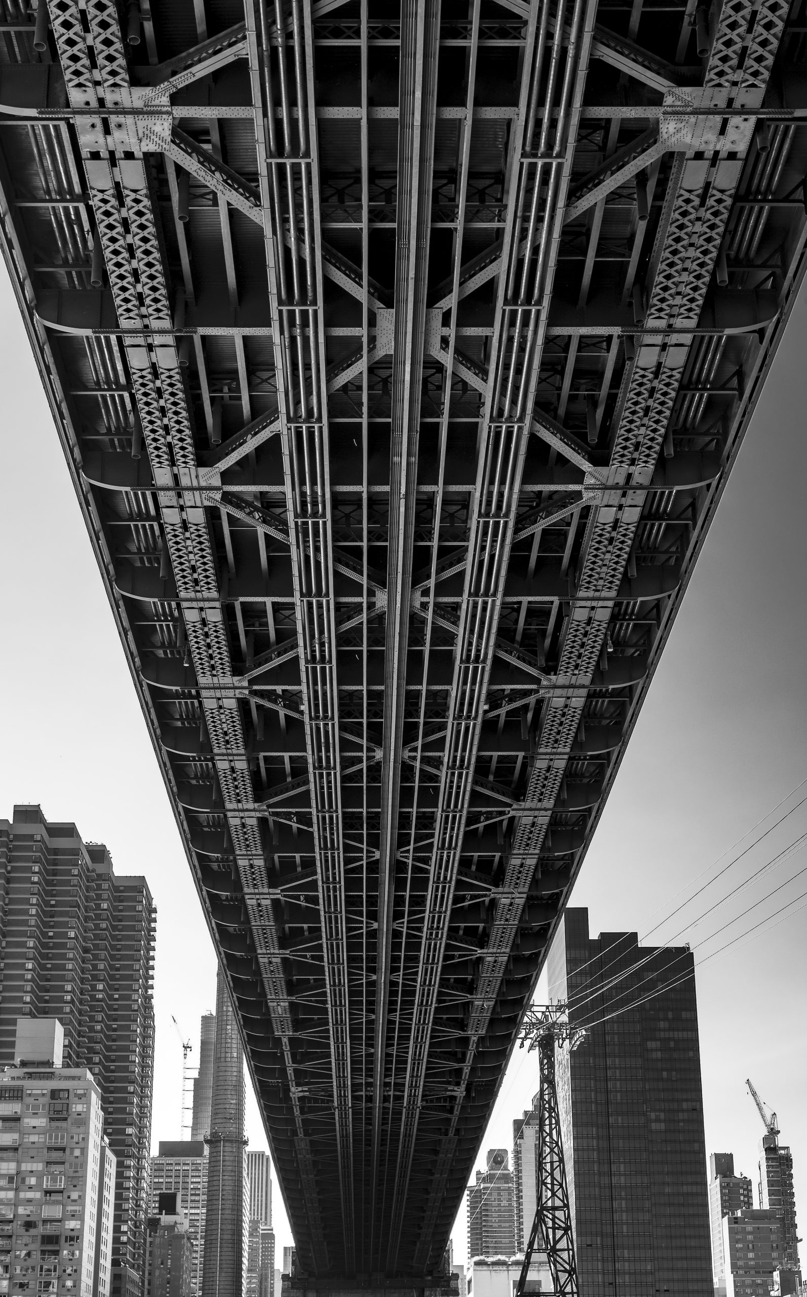 Under Queensboro Bridge, NYC, 2019