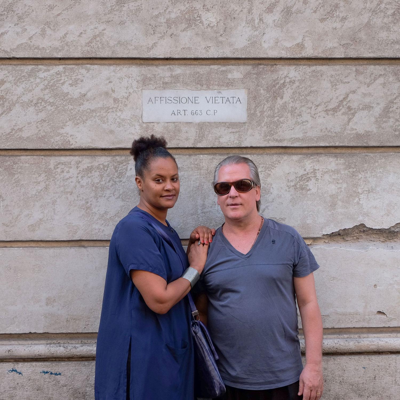 Renata e Giovanni, Roma, 2017