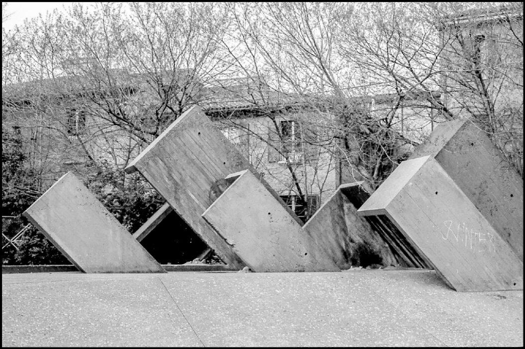 Giardini del Guasto, Bologna | arch: Filippini 1973 | ph: Federico Passi@1983