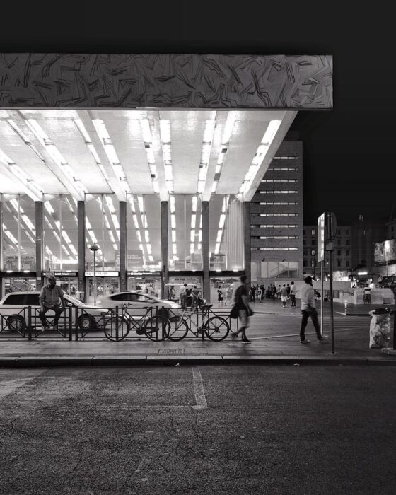 Stazione Termini, 1950