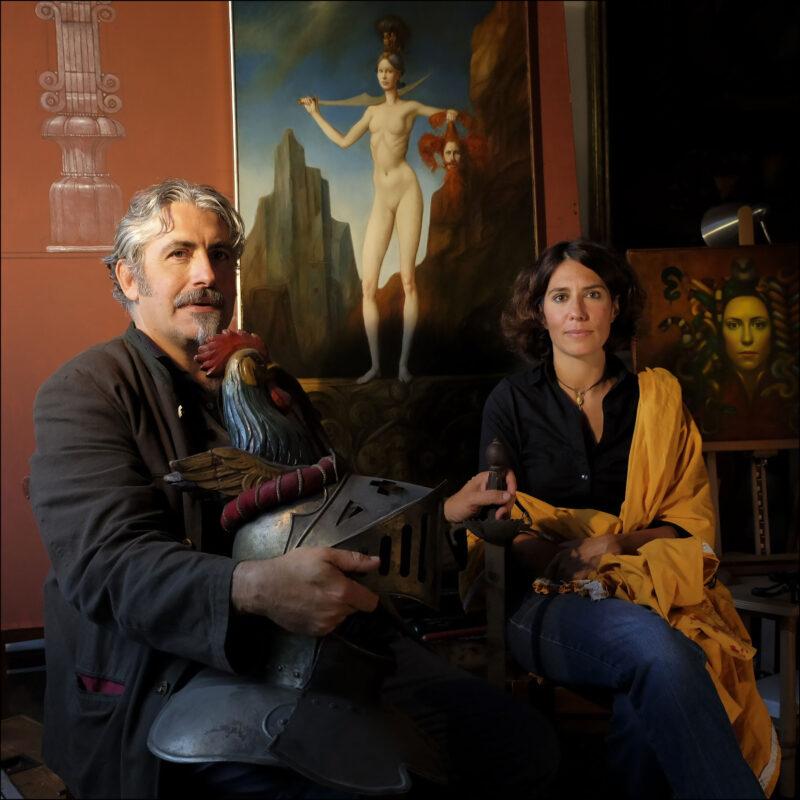 Giovanni Ferroni e Maia Kokocinski, Trastevere 2016