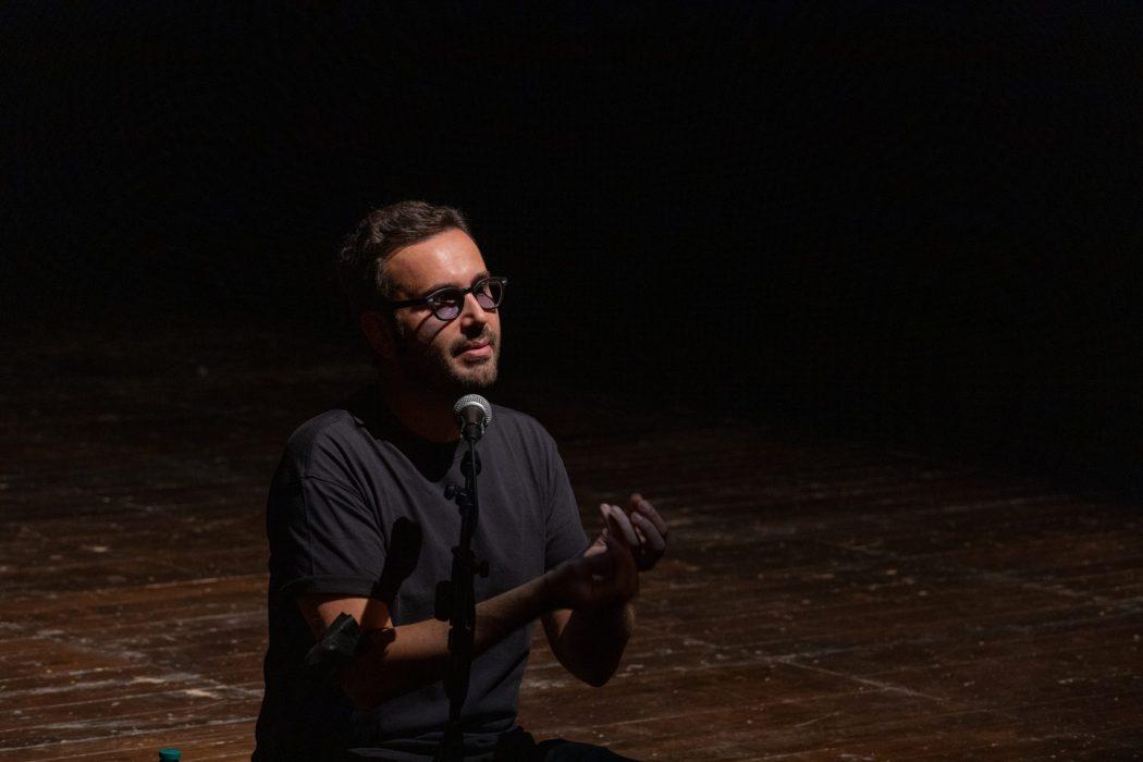 Federico Mauro, masterclass, Teatro India 2021