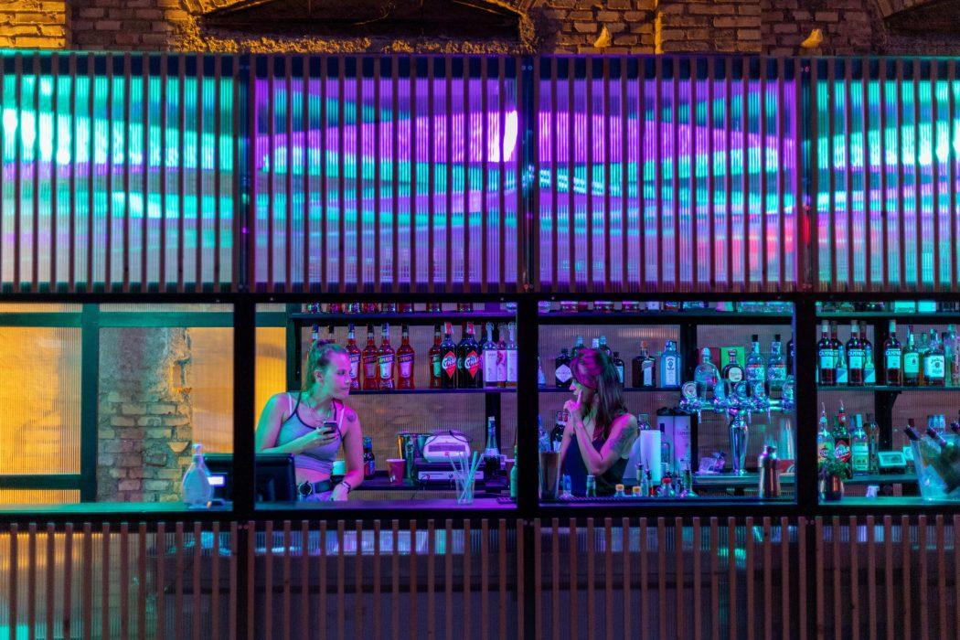 Teatro India, baristas