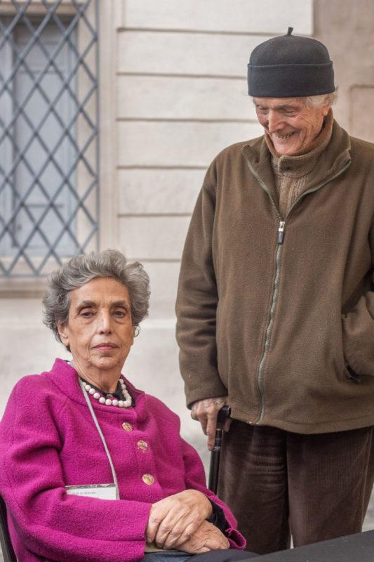 Marta Fattori, Guido Strazza, 2015