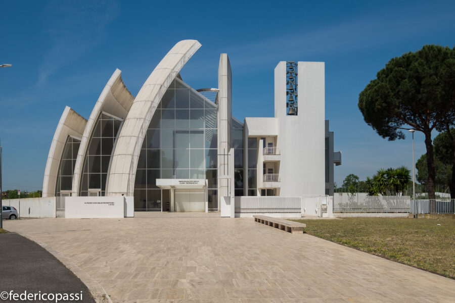 Richard Meier / Jubilee Church, Rome